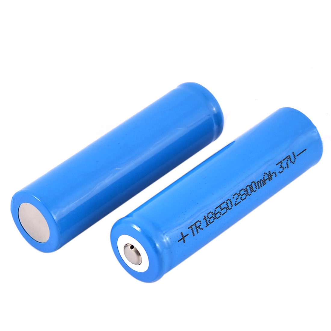 2pcs TR 18650 3.7V 2800mAh Li-ion Rechargeable Battery w Case