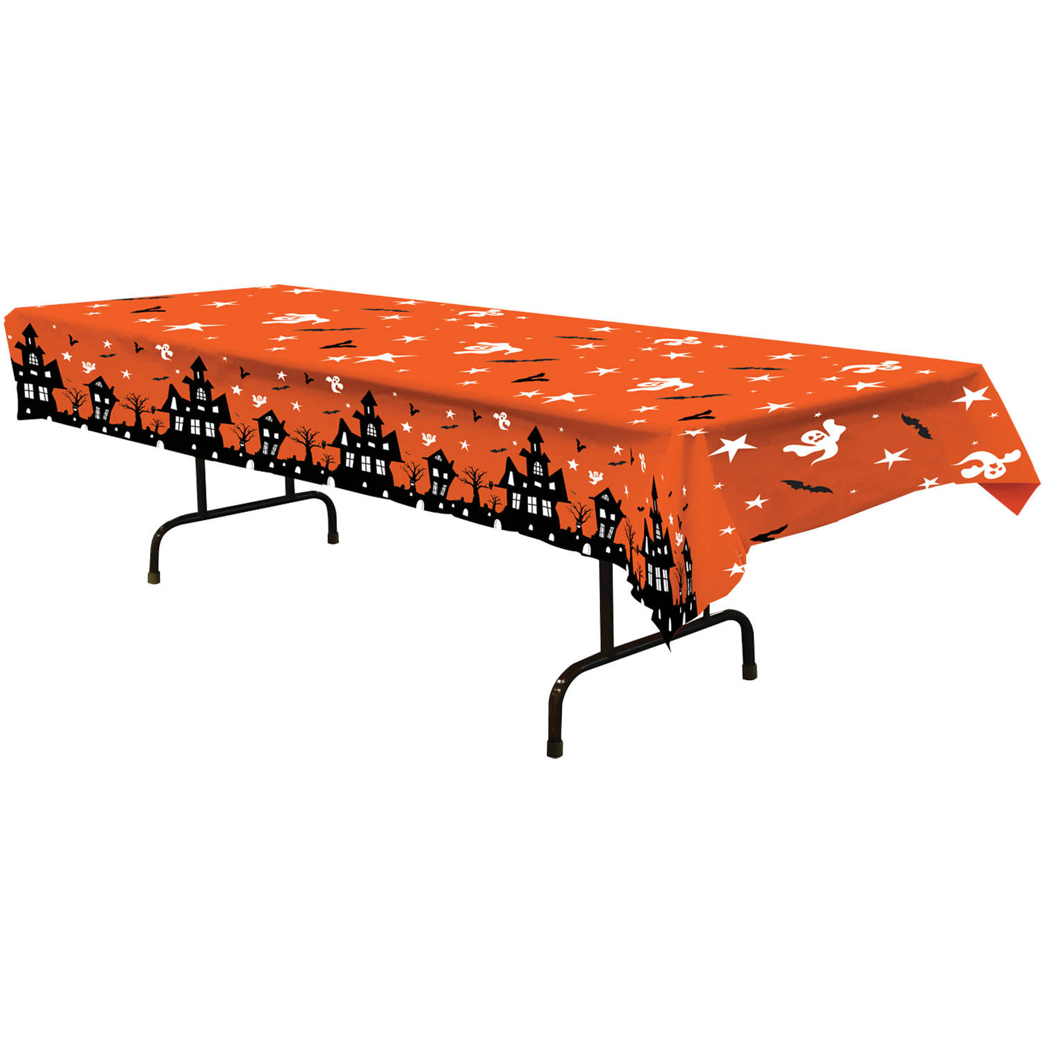 Haunted House Table Cover Halloween Decoration