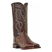 Dan Post Men's C C Chocolate Full Quill Ostrich Chandler Western Boots DP2981