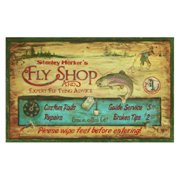 Harkers Fly Shop Wall Art
