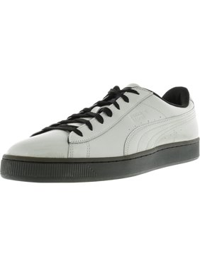 46f9cf6d49e6 Product Image Puma Men s Basket Classic Explosive Gray Violet   Black  Ankle-High Fashion Sneaker - 10M