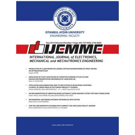 International Journal of Electronics, Mechanical and Mechatronics Engineering - (International Journal Of Mechanical & Mechatronics Engineering)