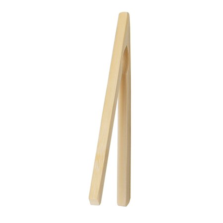 Wolfgang Finger Pockets - HIC Bamboo Toast Tong, HIC's Bamboo Toast Tongs for gripping toast, bagels, toaster pastries, pocket foods, pizza bites, and more without burnt fingers By HIC Harold Import Co