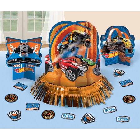 Hot Wheels Wild Racer Table Decorations](Hot Wheels Birthday Party Decorations)