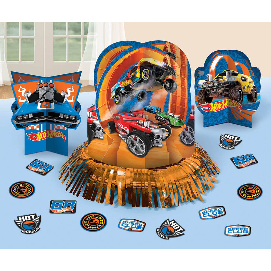 Hot Wheels Wild Racer Table Decorations