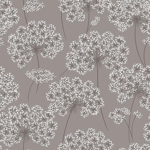 NuWallpaper Angelica Grey Peel & Stick Wallpaper