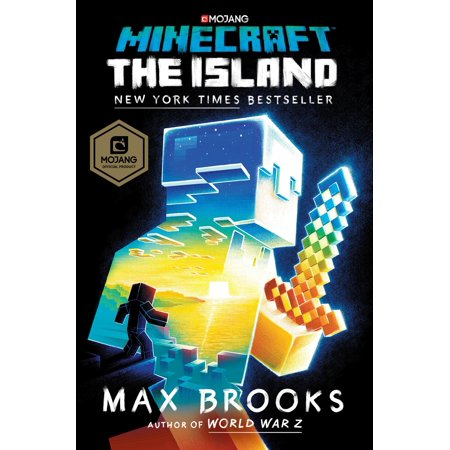 Minecraft: The Island: An Official Minecraft Novel (Hardcover) - Minecraft Craft Ideas For Kids