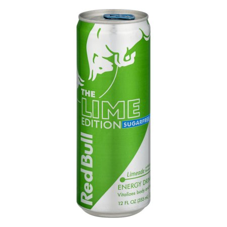 Red Bull Sugarfree Lime Edition Energy Drink, Limeade, 12 Fl Oz, 1 Count