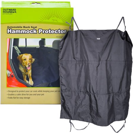 Outward Hound Automobile BackSeat Hammock ProtectorBlack