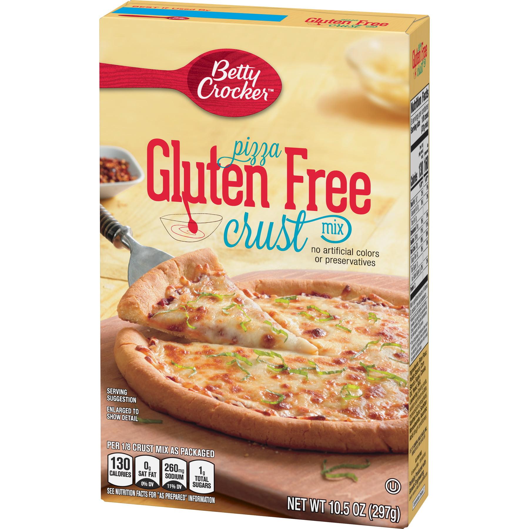 Betty Crocker Gluten Free Pizza Crust Mix 10 5 Oz Walmart Com