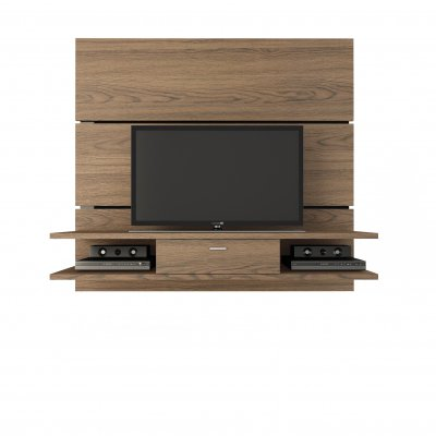 Manhattan Comfort Ellington 2.0 Series 54″ Entertainment Center in Chocolate