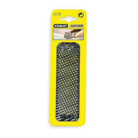 """Stanley Replacement Flat Blade, Fine Cut, 5-1/2"""" Length, 21-398"""