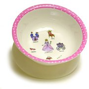 Baby Cie Suction Bowl - Princess - Pink