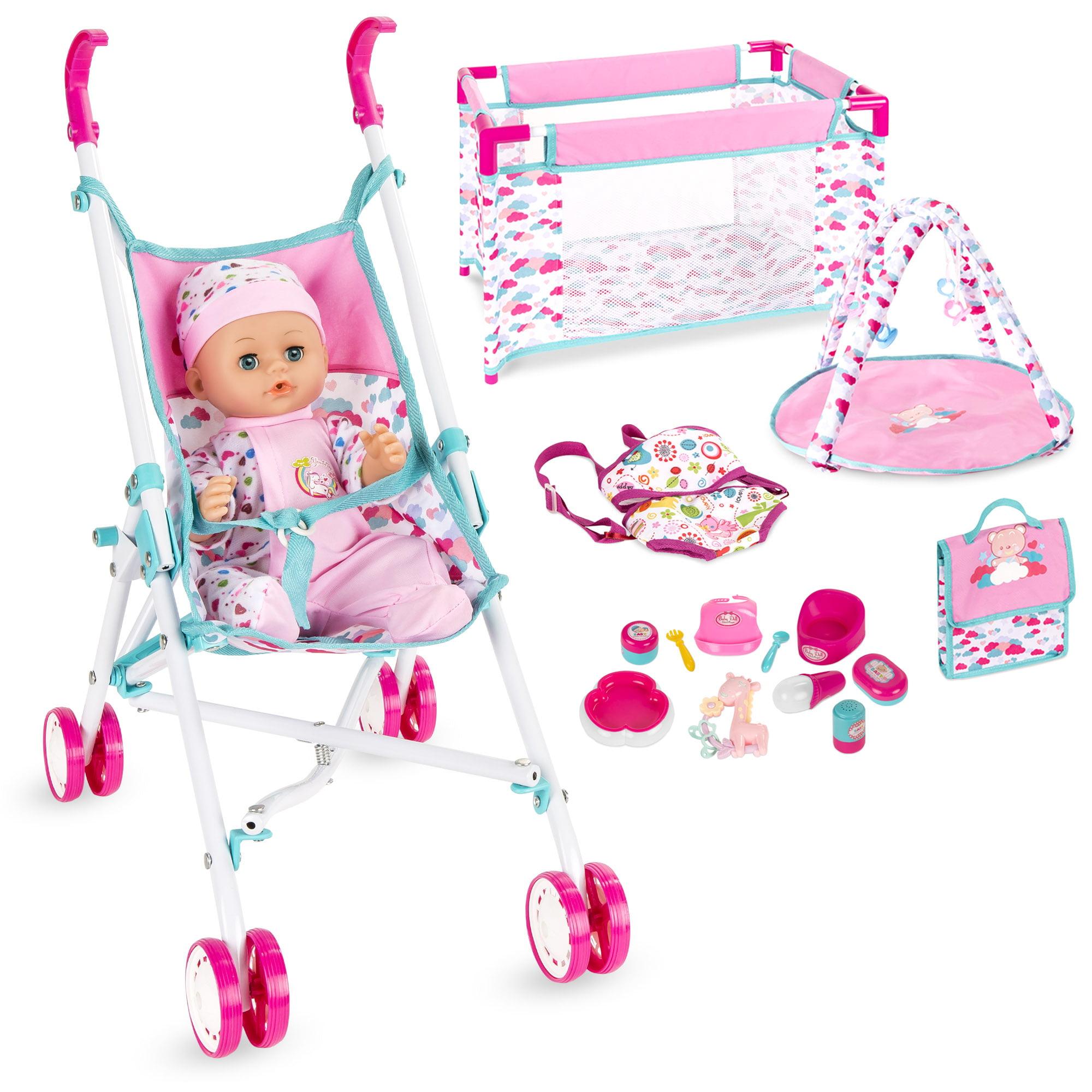 Best Choice Products Kids 15-Piece 13.5in Newborn Baby ...
