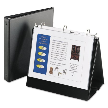 Avery Easel Presentation Durable Binder 1 Quot Round Rings