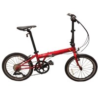 Dahon Speed D9 Red Folding Bicycle