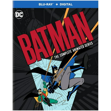 Batman: The Complete Animated Series Remastered (Blu-ray + Digital Copy) (Scary Animated Halloween Movies)