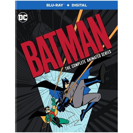 Batman: The Complete Animated Series Remastered (Blu-ray + Digital Copy) - Animated Halloween Movies