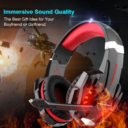 Goldwing Audio (Each G9000 Stereo Gaming Headsets Headphone for PS4 Xbox One Controller with)