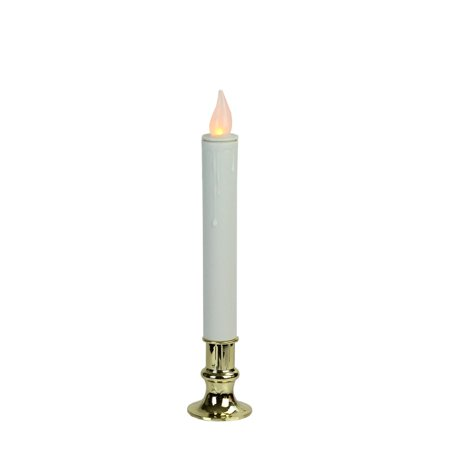 Brite Star 51288 - Battery Operated Simple On LED Taper Candle Lamp with Timer (Battery Operated Taper Candles)