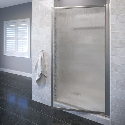 Basco Sopora 34.88'' x 67'' Pivot Framed Shower Door