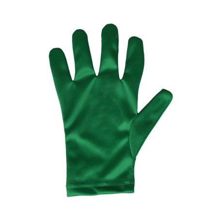 Child Green Gloves - Green Gloves