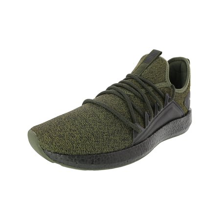 online retailer b2b50 6243c Puma Nrgy Neko Knit Running Shoe - 10.5M - Forest Night / Puma Black