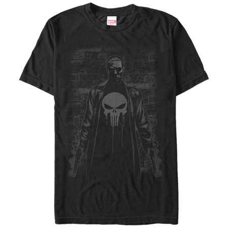 Marvel Men's The Punisher Smoking Guns T-Shirt (Punisher Shirt)