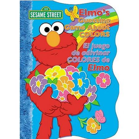 Elmo's Guessing Game about Colors/Elmo y Su Juego de Adivinar Los Colores (Board Book)
