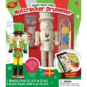 MasterPieces Works of Ahhh?Nutcracker Drummer Holiday Wood Paint Kit