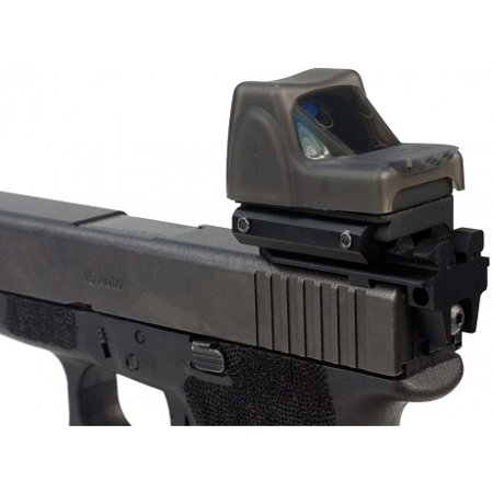 Strike Industries JellyFish Transparent Laser Dot Cover for TRIJICON RMR, Dark