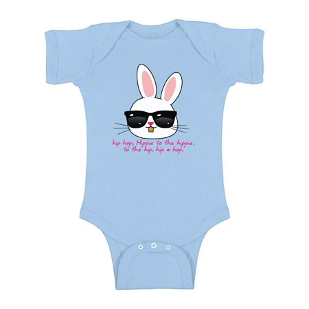Awkward Styles Hip Hop Easter Bunny Baby Bodysuit Short Sleeve Cool Easter Bunny One Piece Top Easter Gifts for Baby First Easter Outfit Easter Holiday Bodysuit for Baby Easter Bunny With Shades Top](Baby Bunnies For Sale In Chicago)