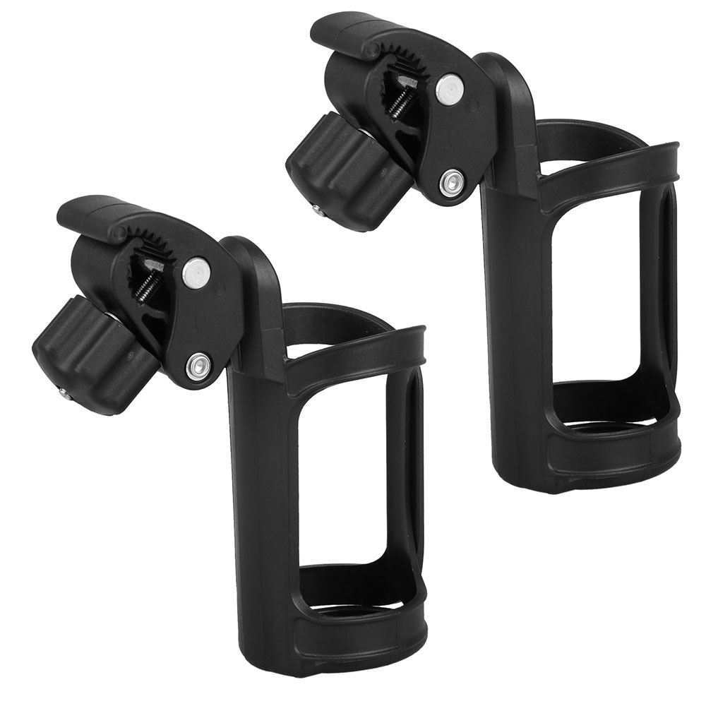 2-pack Bike Water Bottle Holder, No Lost Bottles, Lightweight and Strong Bicycle Bottle Cage, Quick and Easy to Mount, Great for Road and Mountain Bikes