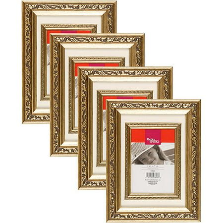 Better Homes And Gardens Heirloom Mat Gold Picture Frame
