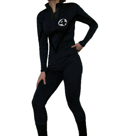 Fantastic 4 Adult Costume Body Suit Four Mens Womens Superhero Movie Comics (Female Comic Book Costume Ideas)