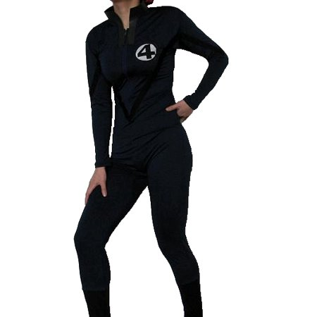 Fantastic 4 Adult Costume Body Suit Four Mens Womens Superhero Movie - Adult Super Hero Costumes