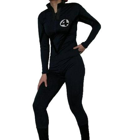 Fantastic 4 Adult Costume Body Suit Four Mens Womens Superhero Movie - Adult Superheroes