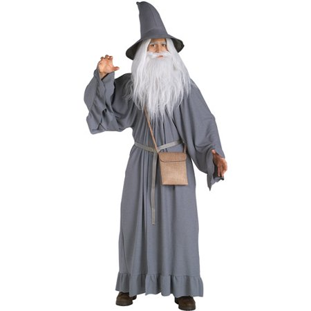 Gandalf Adult Halloween Costume, Size: Men's - One Size - Gandalf The Grey Costume
