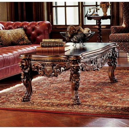 The Lord Raffles Grand Hall Lion Leg Coffee Table