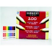 Sargent Art Non-Toxic Washable Marker Classroom Pack, Conical Tip, Pack - 200