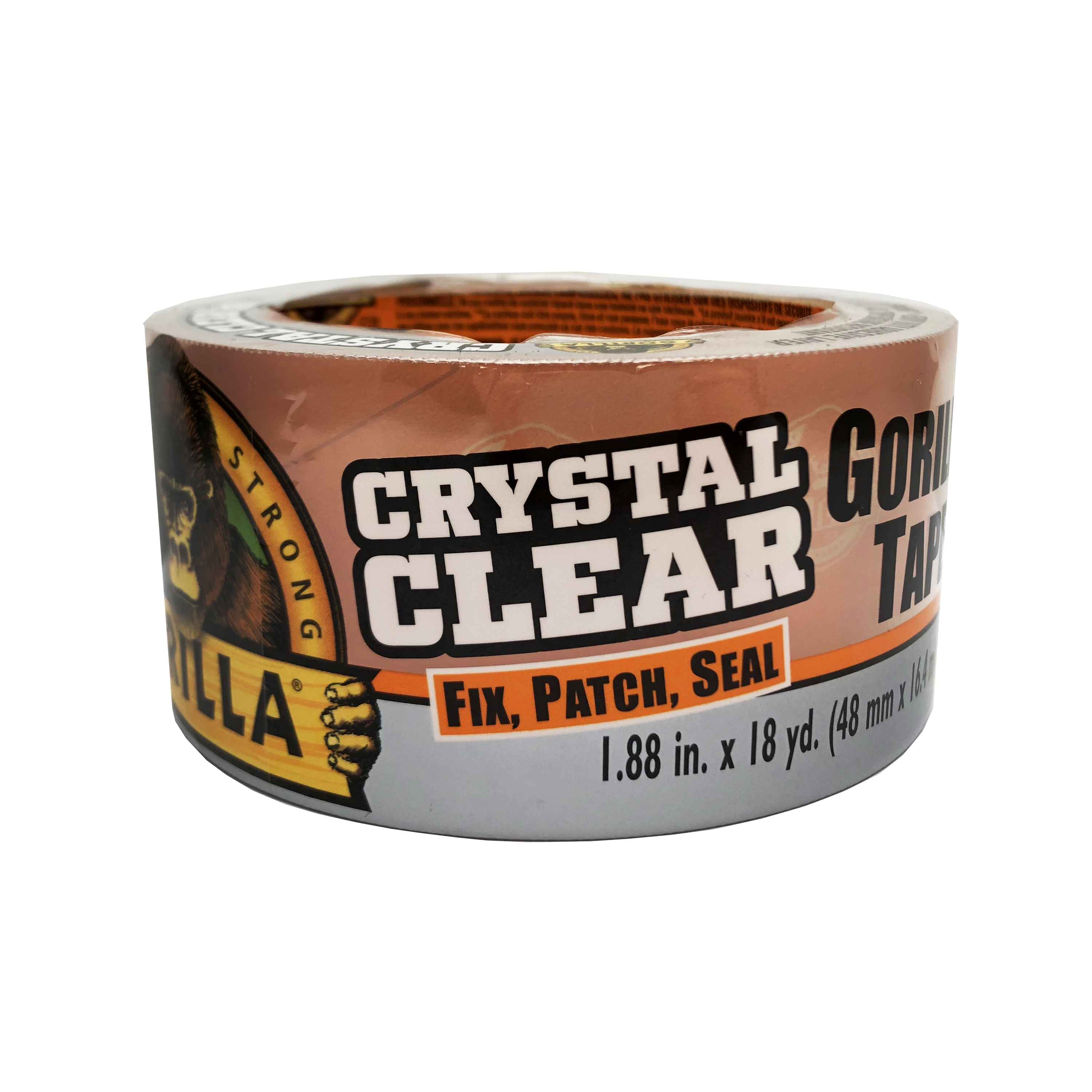 Gorilla Crystal Clear Tape 18yd