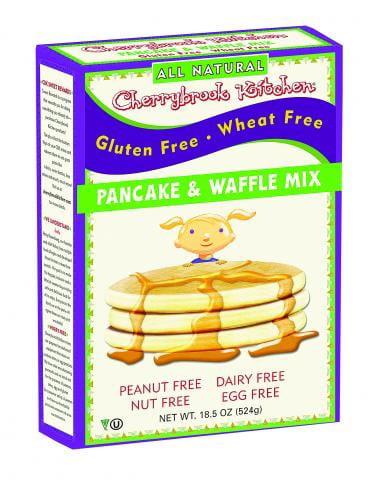 Cherrybrook Kitchen Gluten Free Dreams, Pancake & Waffle Mix, 18 Ounce Boxes by CHERRYBROOK KITCHEN