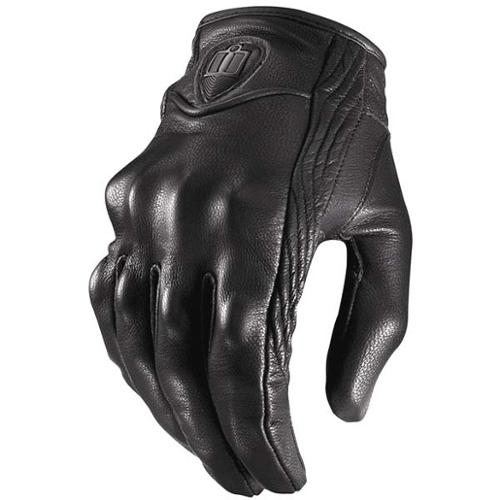 Icon Pursuit Womens Gloves Stealth Non-Perf LG