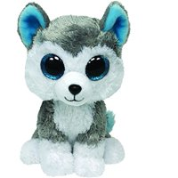 27100372727 Product Image Cp TY Beanie Boos - Slush The Husky (Glitter Eyes) Small 6