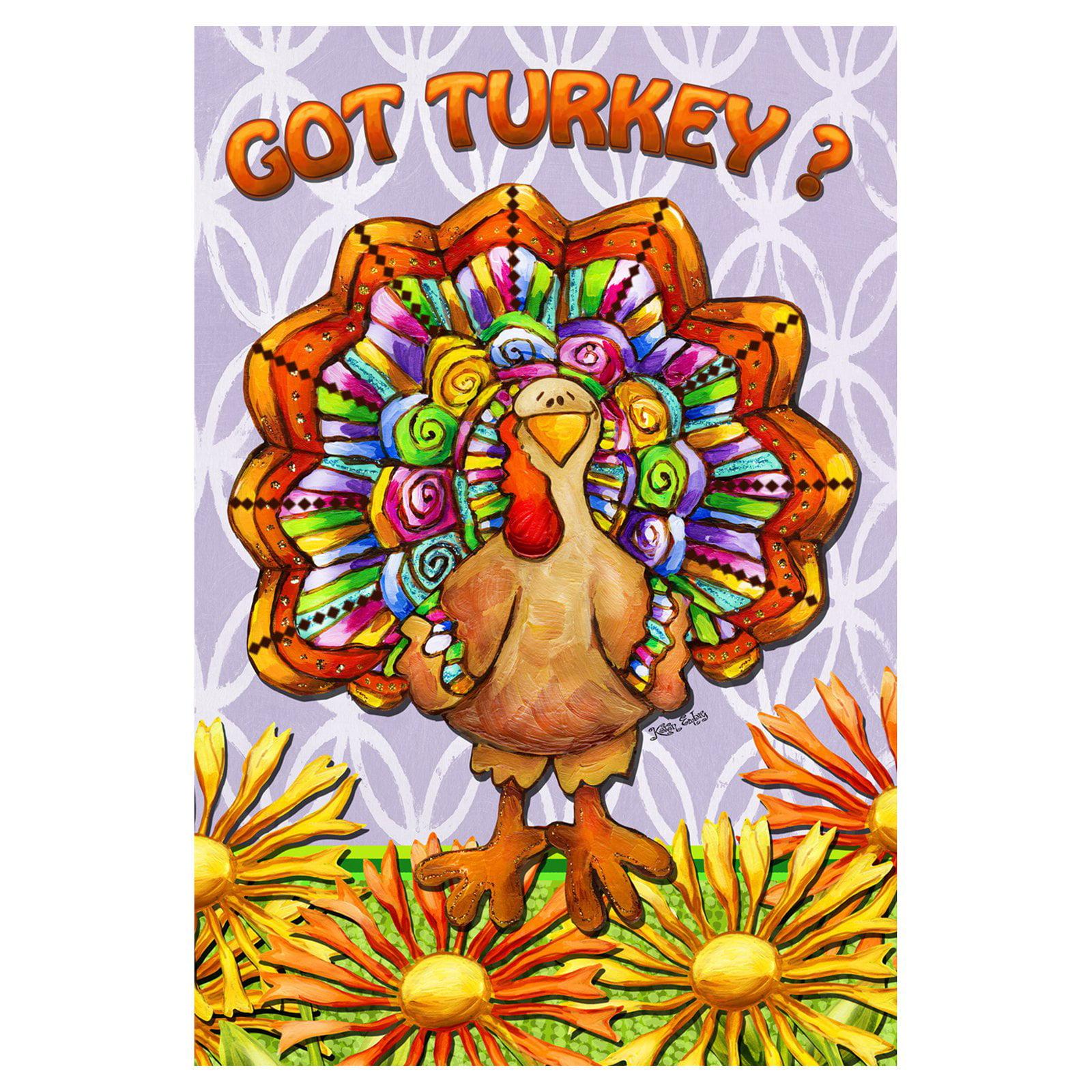 Toland Home Garden Got Turkey Flag