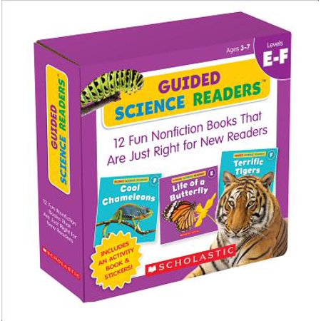 - Guided Science Readers Parent Pack: Levels E-F : 12 Fun Nonfiction Books That Are Just Right for New Readers