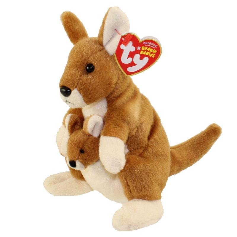 Ty Beanie Baby Pogo The Kangaroo 6 5 Inch Walmart Com