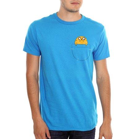 Adventure Time Jake In Pocket T-Shirt (Jake Owen Shirt In Days Of Gold)