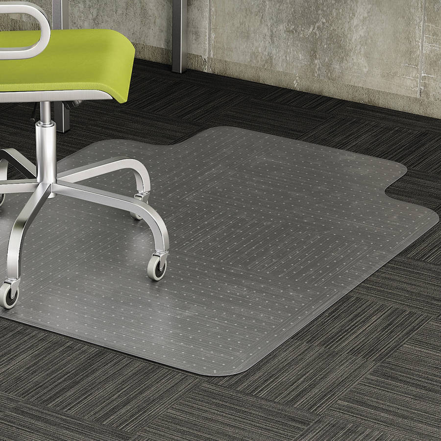 Lorell Low-pile Carpet Chairmats, Clear