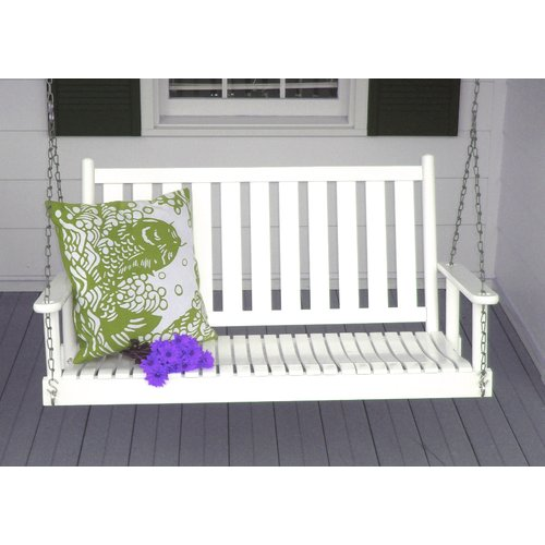 Highland Dunes Swanley Porch Swing with Chain
